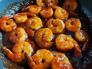 słodko-ostre-krewetki-po-koreańsku