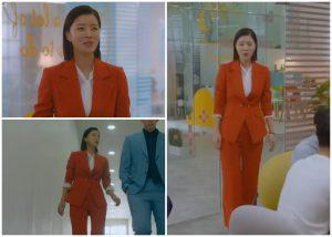 orange-women-suit